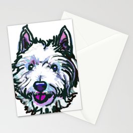 The Westie Dog Love of my Life Stationery Cards