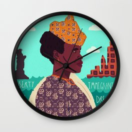 The New World, Immigration Wall Clock