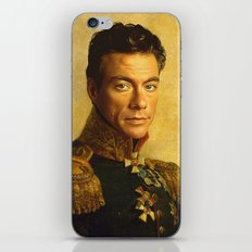 Jean Claude Van Damme - replaceface iPhone & iPod Skin
