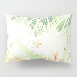 Las palmeras Pillow Sham