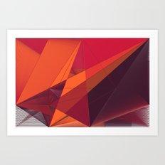 Comp 18 Art Print