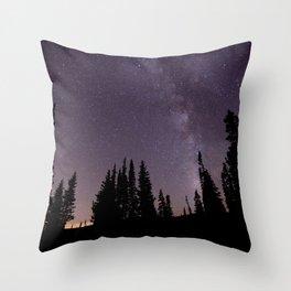 star gazers Throw Pillow