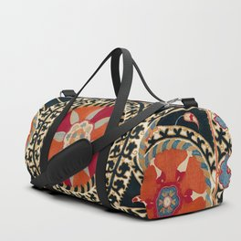 Katti Kurgan Suzani Uzbekistan Embroidery Print Duffle Bag