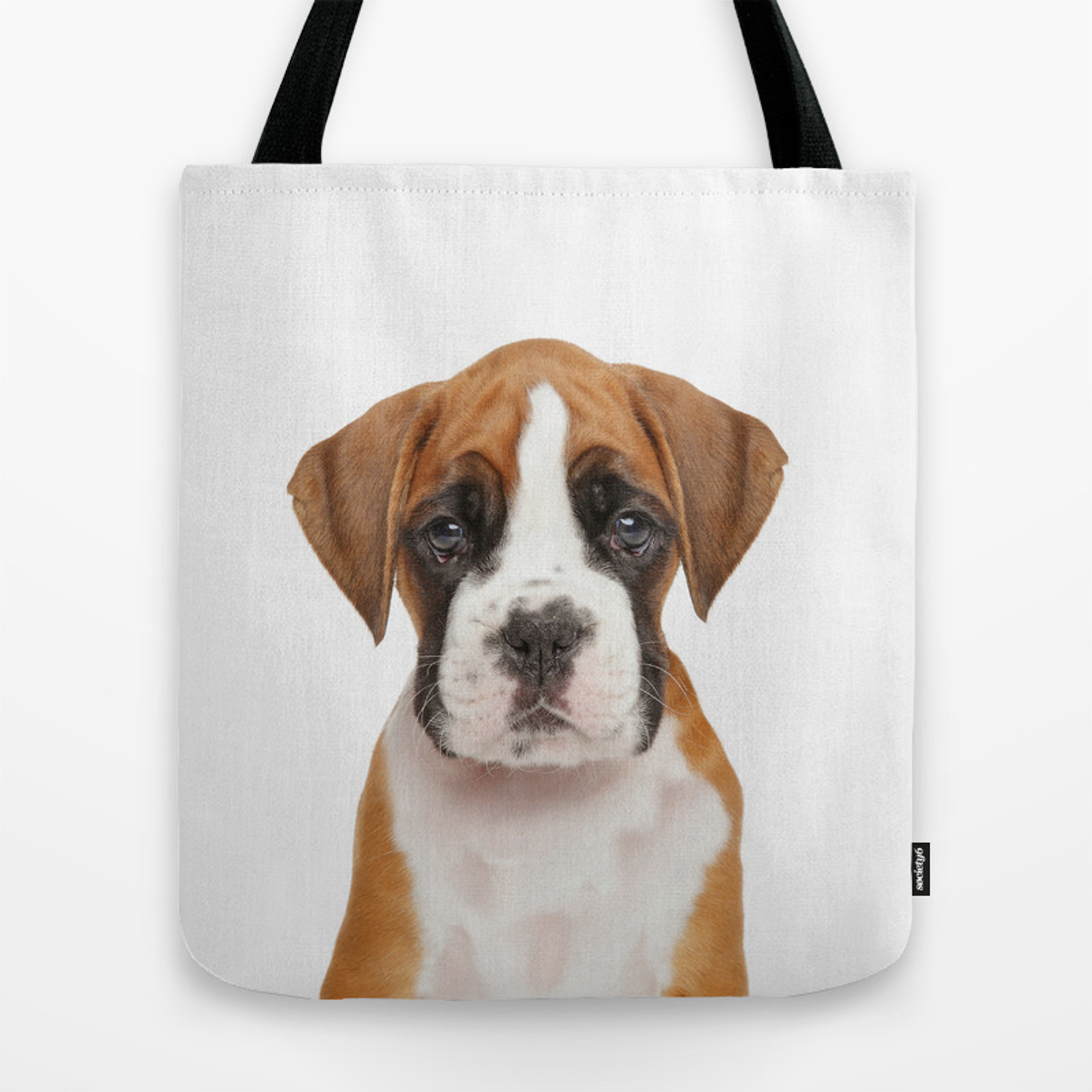 German Boxer Puppy Tote Bag By Taiprints Society6