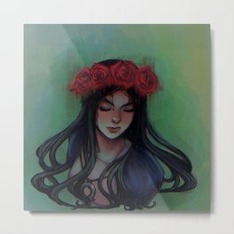 paint the roses red Metal Print