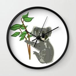 Koala Bear Wall Clock