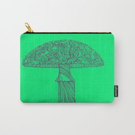 Mushroom purple Carry-All Pouch
