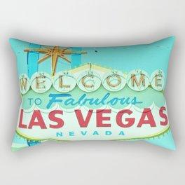Vintage Vegas Sign - Las Vegas Sign Rectangular Pillow