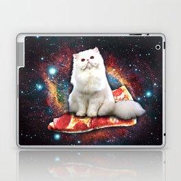Space cat pizza Laptop & iPad Skin