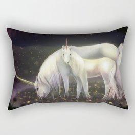 Unicorn + Babycorn Rectangular Pillow