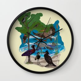 Some Birds Wall Clock