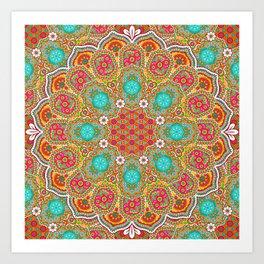 Joyful Harmony Art Print