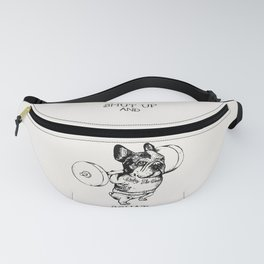 Shut Up and Squat French Bulldog Fanny Pack