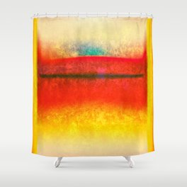 After Rothko 8 Shower Curtain