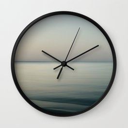 Tranquility by the sea Wall Clock