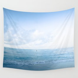 calm day ver.blue Wall Tapestry