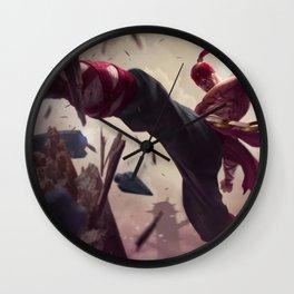 Classic Lee Sin League Of Legends Wall Clock