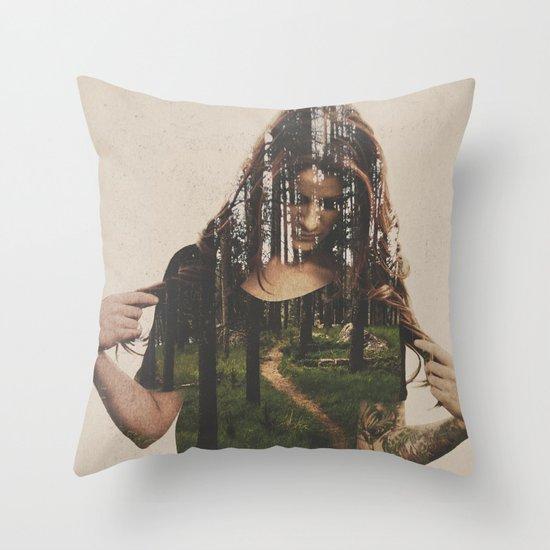 Became Throw Pillow