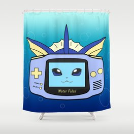 Water Game Shower Curtain