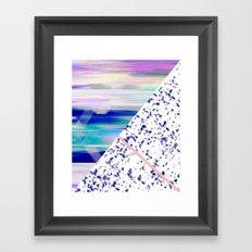 Mix 2 Framed Art Print