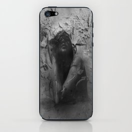"""""""renaissance of an eroded soul"""" iPhone Skin"""