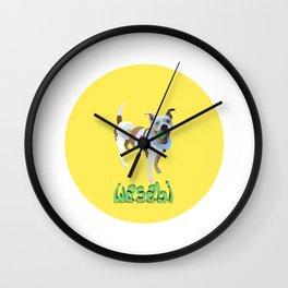 sushi dog Wall Clock