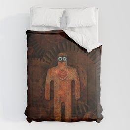 Rust Man - Steampunk Super Hero Comforters