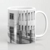 school Mugs featuring School by Ibbanez