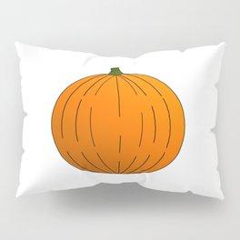 Pumpkin Illustration Pillow Sham