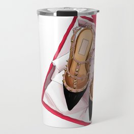 Fashion shoes Travel Mug