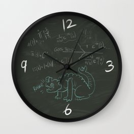 Hermann Chalkboard Clock design Wall Clock