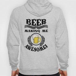 making me - I love beer Hoody