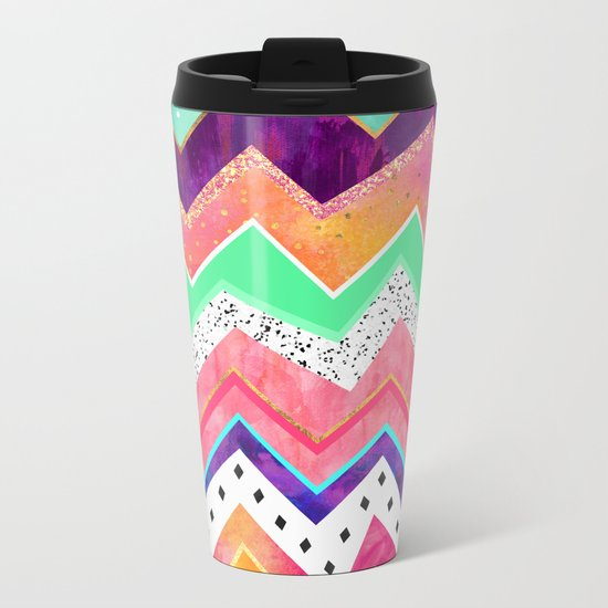 Ice Cream Land Metal Travel Mug