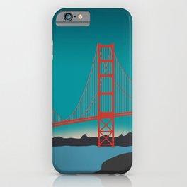 Golden Gate Bridge, San Francisco, California Landscape iPhone Case