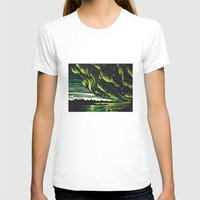 northern lights T-shirts featuring Northern Lights  by Joey Bareither