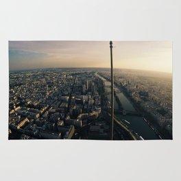 Paris view Rug