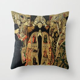 Consecration of Saint Augustine Throw Pillow