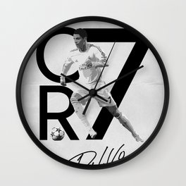 Cr7 - Ronaldo Wall Clock