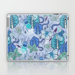 Frozen bugs in the garden Laptop & iPad Skin