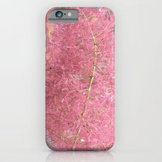 Pink Fuzzy Flower Slim Case iPhone 6s
