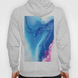 Pinkish ocean Hoody