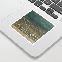 Landscape Dots - Night Sticker