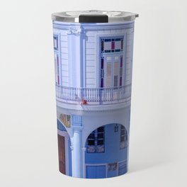 Colonial Building in Old Havana Cuba Travel Mug