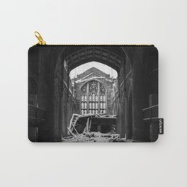 Abandoned Church in Winter Carry-All Pouch
