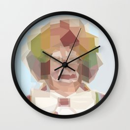 Tinkle Face the Magic Clown Wall Clock