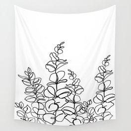 Eucalyptus cinerea - minimal Wall Tapestry