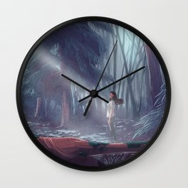 How to be a Werewolf: Malaya in the Forest Wall Clock