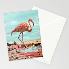 Chillin' Flamingo Stationery Cards