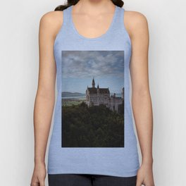 Neuschwanstein Castle in Germany Unisex Tank Top