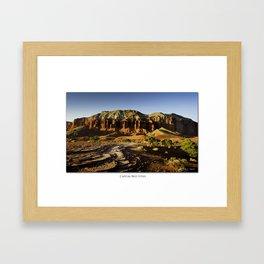 Capital Reef sunset, Utah Framed Art Print